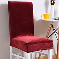 billige Overtrekk-Moderne 100% Polyester Mønstret Stoltrekk, Enkel Ensfarget Trykket slipcovere