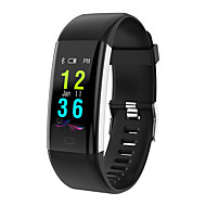 tanie Inteligentne zegarki-Inteligentny zegarek Inteligentne Bransoletka Spalone kalorie Krokomierze Kontrola APP Pomiar ciśnienia krwi Rodzajowy Pulse Tracker