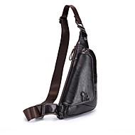 lasoizi unisex pungi sac de vesta sac de umar fermoar fermoar negru
