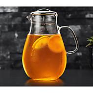 preiswerte Küche & Utensilien-1pc Glas Kaffee und Tee Teekanne Gute Qualität . 22*9.5