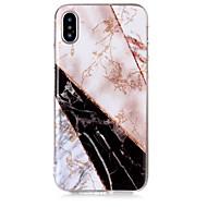 billiga Mobil cases & Skärmskydd-fodral Till Apple iPhone X iPhone 8 IMD Mönster Skal Marmor Glittrig Mjukt TPU för iPhone X iPhone 8 Plus iPhone 8 iPhone 7 Plus iPhone 7
