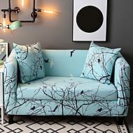 billige Overtrekk-Moderne Natur-inspireret 100% Polyester Mønstret Toseters sofatrekk, Enkel Planter Dyremønster Trykket slipcovere