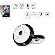 billige Innendørs IP Nettverkskameraer-strongshine® 960p-støtte 128gb sd (innebygd høyttalermikrofon) dag natt bevegelse 360 graders IP-kamera