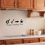 cheap Wall Stickers-Wall Decal Decorative Wall Stickers - Plane Wall Stickers Characters Re-Positionable Removable