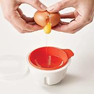 baratos Utensílios de Ovo-Utensílios de cozinha Plásticos Para Microondas e Forno / Gadget de Cozinha Criativa Ferramentas para ovos / Para utensílios de cozinha 1pç