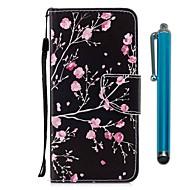 Carcasă Pro Xiaomi Redmi 5 Redmi 5 Plus Pouzdro na karty Peněženka se stojánkem Flip Magnetické Celý kryt Květiny Pevné PU kůže pro Redmi