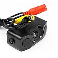 billiga Parkeringskamera för bil-ziqiao 3 i 1 bil parkeringssensor bakifrån kamera bil omvänd radar assistanssystem