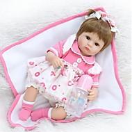 voordelige Speeltjes-NPKCOLLECTION NPK POP Reborn-poppen Baby meisjes 18 inch(es) Siliconen - Pasgeboren levensecht Schattig Milieuvriendelijk Handgemaakt Kindveilig voor kinderen Unisex / Meisjes Speeltjes Geschenk