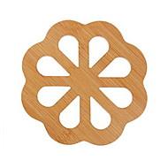 billige Bordduker-Moderne Plast Rund Bordskånere Ensfarget Borddekorasjoner 1 pcs