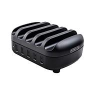 billiga Billaddare för mobilen-NTONPOWER Kontor Hem / Kontor Till iPad Till mobil Till surfplatta 5 USB-portar for 5V