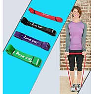 cheap Pilates-KYLINSPORT Exercise Bands/Resistance bands Suspension Trainer Exercise & Fitness Gym Strength Training Rubber Physical Therapy Pull Up