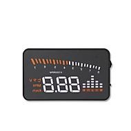 x5 3.5 Polegadas LED Com Fio 3.5inch Head Up Display Indicador LED Alarme de baixa tensão Exibição multifuncional para Caminhão Ônibus