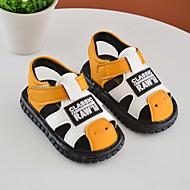 baratos Sapatos de Menino-Para Meninos / Para Meninas Sapatos Courino Verão Conforto / Primeiros Passos Sandálias para Preto / Amarelo / Vermelho