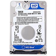 tanie Dyski twarde wewnętrzne-WD Dysk twardy do laptopa / notebooka 500 GB SATA 3.0 (6 Gb / s) WD5000LPCX