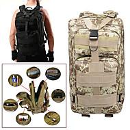 25L バックパック - 防雨, 耐久性 キャンピング, 軍隊, トラベル オックスフォード デジタルジャングル, デジタル砂漠, Pythonの泥の色