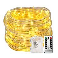 A luz das luzes da corda de 10m ajusta-se 100leds as baterias decorativas imperme
