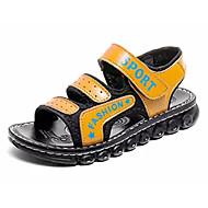 tanie Obuwie dziewczęce-Dla dziewczynek Dla chłopców Buty PU Wiosna Lato Comfort Sandały na Casual Black Dark Blue Yellow