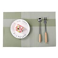 billige Kuvertbrikker-Moderne / Fritid Plast Kvadrat Bordskånere Stripet Borddekorasjoner 1 pcs