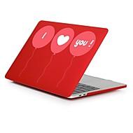"""tanie Akcesoria do MacBooka-MacBook Futerał na Romantyczne Serce Plastikowy Nowy MacBook Pro 15"""" Nowy MacBook Pro 13"""" MacBook Pro 15 cali MacBook Air 13 cali MacBook"""