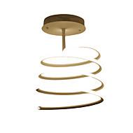 billige Taklamper-Ecolight™ Takplafond Omgivelseslys - geometrisk mønster, Kunstnerisk Moderne / Nutidig, 110-120V 220-240V, Varm Hvit Hvit, Pære Inkludert
