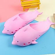 baratos Sapatos de Menino-Para Meninos Sapatos Pele PVC Verão Solados com Luzes Sandálias Sapatos para Swing Presilha para Crianças Azul / Rosa claro