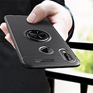 billiga Mobil cases & Skärmskydd-fodral Till Huawei P20 lite P20 med stativ Skal Enfärgad Mjukt TPU för Huawei P20 lite Huawei P20 Pro Huawei P20 P10 Lite P10 P8 Lite