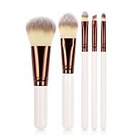 5 stk Make-up pensler Professionel Brush Sets / Rougebørste / Øjenskyggebørste Syntetisk Hår Øko Venlig / Professionel / Blød Træ