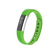 billiga Smart klocka Tillbehör-Klockarmband för Fitbit Alta Fitbit Modernt spänne Silikon Handledsrem