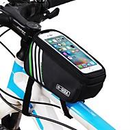 Cell Phone Bag / Top Tube Bag 5.7 hüvelyk Érintőképernyő Kerékpározás mert iPhone 8/7/6S/6 / iPhone X / Samsung Galaxy S8+ / Note 8 Medence / Vízálló cipzár