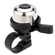 זול אביזרים לאופניים-פעמון לאופניים נייד, קל להתקנה, אזעקה אופנייים פלסטיק / Aluminum Alloy כסף