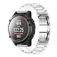 billiga Smart klocka Tillbehör-Klockarmband för Fenix 5x Garmin Klassiskt spänne Rostfritt stål Handledsrem