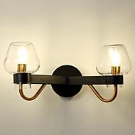billige Vegglamper-Mini Stil Enkel Moderne / Nutidig Vegglamper Til Stue Soverom Spisestue Leserom/Kontor Kontor Metall Vegglampe 110-120V 220-240V 5W