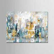 Oil Painting Hand Painted - Abstract Modern Rolled Canvas