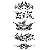 1 pcs Tatuagens temporárias Impermeável Corpo / brachium / ombro Tatuagem Adesiva