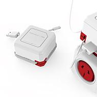 tanie Ulepszanie domu-smart usb power charger gniazdko elektryczne iec połączenie zgodne 1szt