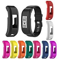 billiga Smart klocka Tillbehör-Klockarmband för Vivosmart HR Garmin Modernt spänne Silikon Handledsrem