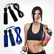 cheap Fitness Accessories-Jump Rope / Skipping Rope / Skipping Rope Leisure Sports / Indoor Simple / Adjustable Length / Durable PVC / PP