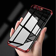 billiga Mobil cases & Skärmskydd-fodral Till Huawei P10 P10 Lite Plätering Ultratunt transparent kropp Skal Enfärgad Mjukt TPU för P10 Lite P10 Huawei P9 Lite Huawei P9