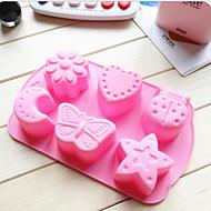 billige Bakeredskap-Bakeware verktøy Silikongel Varmebestandig Kreativ Kjøkken Gadget spirende Sjokolade For Småkake Dessertverktøy