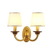billige Vegglamper-QINGMING® Mini Stil Rustikk / Hytte / Land Vegglamper Stue / Soverom / butikker / cafeer Metall Vegglampe 110-120V / 220-240V 60W