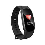 tanie Inteligentne zegarki-Inteligentne Bransoletka Spalone kalorie Krokomierze Kontrola APP Wielofunkcyjne Pomiar ciśnienia krwi Pulse Tracker Krokomierz