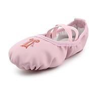 billige Ballettsko-Jente Ballettsko Kunstlær Flate Blomst Flat hæl Kan spesialtilpasses Dansesko Rosa / Innendørs / Trening
