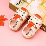 baratos Sapatos de Menino-Para Meninos / Para Meninas Sapatos Couro Ecológico Verão Conforto / Primeiros Passos Sandálias para Amarelo / Azul / Rosa claro