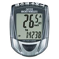 billige Sykkelcomputere og -elektronikk-CatEye® Micro Wireless CC-MC100W Sykkelcomputer Stopur / bakgrunnsbelysning / Speedometer Utendørs Sykling