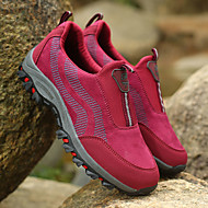 baratos Sapatos Masculinos-Homens Tule Primavera / Outono Conforto Tênis Caminhada Fúcsia / Pêssego / Cinzento Escuro