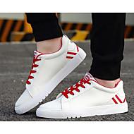 cheap Men's Sneakers-Men's Suede Spring / Fall Comfort Sneakers Black / Red / Green