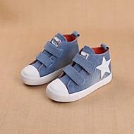 tanie Obuwie chłopięce-Dla dziewczynek Dla chłopców Buty Jeans Wiosna Jesień Comfort Tenisówki na Casual Dark Blue Light Blue