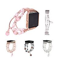 billiga Smart klocka Tillbehör-Klockarmband för Fitbit Blaze Fitbit Smyckesdesign Keramisk Handledsrem