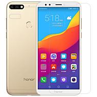 billiga Mobil cases & Skärmskydd-Skärmskydd Huawei för Honor 7C(Enjoy 8) Y9 (2018)(Enjoy 8 Plus) PET Härdat Glas 2 sts Front och kameralinsskydd Antiglans