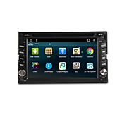 Factory OEM 6.2 inch 2 DIN Android 7.1 Built-in Bluetooth / RDS / Steering Wheel Control for universal Support / WiFi / Touch Screen